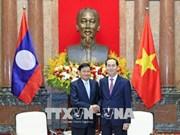 Le président Trân Dai Quang reçoit le Premier ministre laotien Thongloun Sisoulith