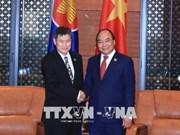 Le PM reçoit le secrétaire général de l'ASEAN