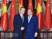 Le PM Nguyên Xuân Phuc reçoit le ministre chinois des Affaires étrangères Wang Yi