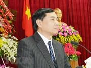 Avertissement à l'encontre d'un dirigeant de la province de Dak Lak