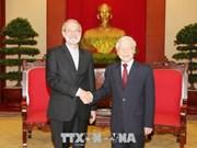 Le Vietnam souhaite stimuler les relations d'amitié traditionnelle avec l'Iran