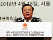 Le Vietnam renforce la promotion de l'investissement en R. de Corée