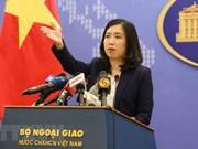 Le Vietnam condamne les activités illégales de la Chine à Hoang Sa et Truong Sa