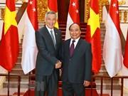 Nouvel élan pour le partenariat stratégique Vietnam-Singapour