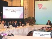 ASEAN : les ministres des Affaires étrangères se réunissent à Singapour