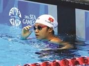 La nageuse Phuong Trâm attend le beau temps après la pluie