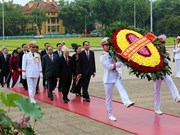 Ouverture de la 5e session de l'AN de la 14e  législature à Hanoi
