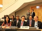 Le Vietnam à la 71e Assemblée mondiale de la santé à Genève
