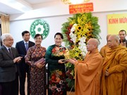 Des dirigeants formulent leurs voeux pour le 2562e anniversaire de Bouddha