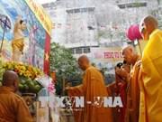 Célébration de l'anniversaire de Bouddha dans diverses localités