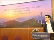 Colloque « Presse et Rapports de développement durable des entreprises »