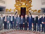Le Premier ministre reçoit des autorités de trois provinces argentines
