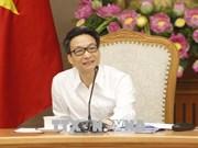 Réunion du Conseil national de développement durable et d'amélioration de la compétitivité