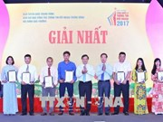 Le Prix national de l'information extérieure couronne 67 oeuvres