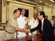 Hô Chi Minh-Ville accueille une délégation d'attachés militaires étrangers