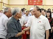 À Hai Phong, le PM demande de maintenir l'ordre et la paix sociaux