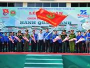 La campagne de volontariat «Mouvement vert» à Ho Chi Minh-Ville