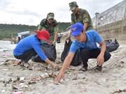 De jeunes volontaires s'engagent pour la mer et les îles du pays