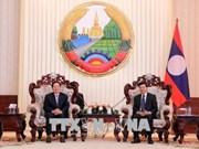 Une délégation du ministère de l'Intérieur du Vietnam en visite de travail au Laos