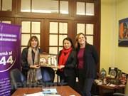 Visite d'une délégation de l'Union des femmes du Vietnam en Argentine
