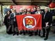 Le Vietnam assiste au premier congrès du Parti communiste italien