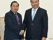 Le Premier ministre Nguyen Xuan Phuc reçoit le vice-président de l'AN du Laos