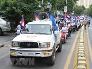 Cambodge : démonstration de force avant les élections générales