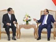 Le PM reçoit le président de l'Alliance des parlementaires d'amitié Japon-Mékong