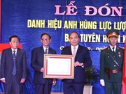 Le PM décore le service de propagande de la 5e zone militaire