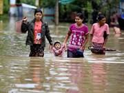 Les inondations font 5 morts et 54.000 déplacés au Myanmar