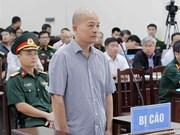 Le procès de Dinh Ngoc Hê et ses complices s'ouvre à Hanoi