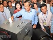 Le Vietnam félicite le Cambodge pour les élections réussies