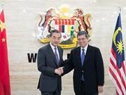 La Chine et la Malaisie s'engagent à renforcer la coopération amicale