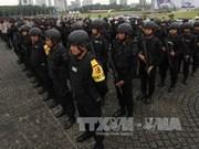 Exercice antiterroriste en Indonésie avant les Jeux asiatiques 2018