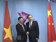 Le Vietnam et la Chine affichent leur volonté de renforcer leurs liens