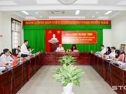 La vice-présidente Dang Thi Ngoc Thinh en visite de travail à Soc Trang