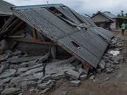 Tremblement de terre : condoléances à l'Indonésie