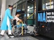 Offrir aux personnes handicapées l'opportunité d'avoir accès aux infrastructures