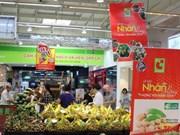 Le longane de Hung Yen vendu dans les supermarchés de Big C