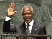 Condoléances pour le décès de Kofi Annan