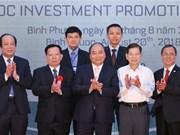 Le PM exhorte Binh Phuoc à transformer ses potentialités en réalités