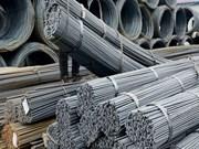 Les exportations d'acier de janvier à juillet rapportent 2,53 milliards de dollars