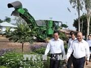 Le Premier ministre visite des établissements agricoles à Tay Ninh