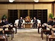Une délégation du PCV en visite à Shaanxi en Chine