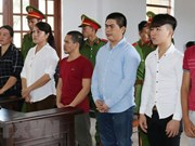 Ninh Thuan: Jugement de six personnes accusées de perturber l'ordre public