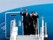 Le président Tran Dai Quang entame sa visite d'Etat en Ethiopie