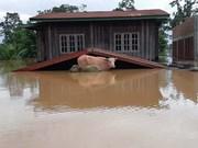 Les inondations généralisées font des ravages au Laos