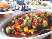 La gastronomie végétarienne à l'honneur