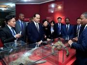Le président Tran Dai Quang quitte l'Ethiopie pour l'Egypte