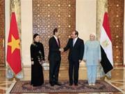 Le Vietnam et l'Egypte affirment approfondir leurs liens